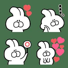 White Rabbit Emoji (2)