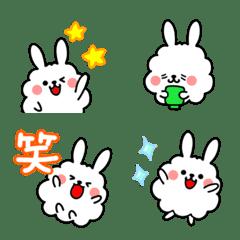 Cloud Bunny! [Emoji version]