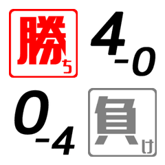 Game counter of Soft Tennis Emoji