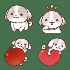 HUWAMOKO Shih Tzu Emoji.