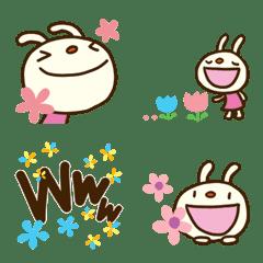 Forecast rabbit 5 Flower Emoji