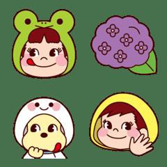อิโมจิไลน์ Enjoy the Rainy season! PEKO's Emoji 3rd