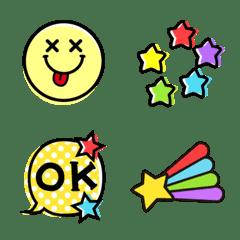 Colorful emoji !!