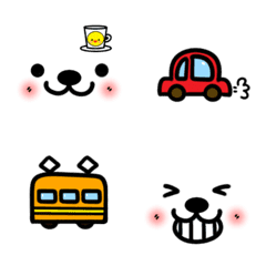 Message and face Emoji (2)