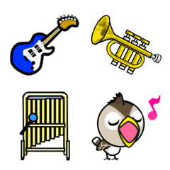 Musical instrument and musical Emoji – LINE Emoji | LINE STORE