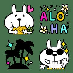Emoji of Usako in Summer