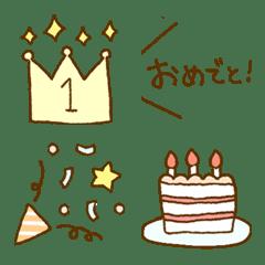 Cute celebration