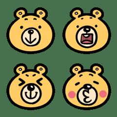 อิโมจิไลน์ Thend Bear Cute Emoji