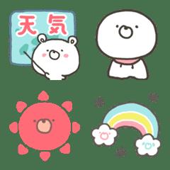 GOOD bear's Weather Forecast emoji