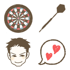Darts!!!LIFE emoji