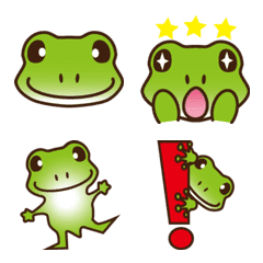 it's a emoji of the frogs