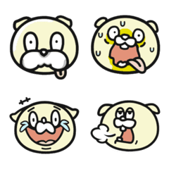 Peek a boo dog Emoji