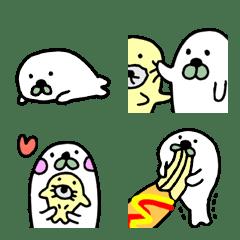 seal and seal Emoji 1