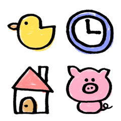 Simple doodle pictogram 2