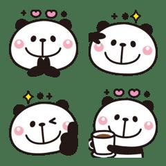 Adult cute panda Emoji