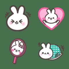 Baby Rabbit Nya-Nya Emoji