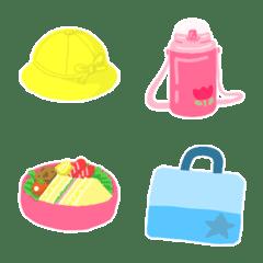 Used by Japanese kindergartens.Emoji.