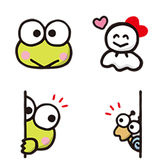 大眼蛙 表情貼