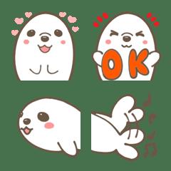 Cute cute Seal Emoji