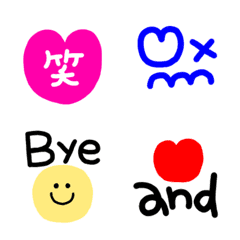 vivid colors Emoji
