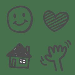 gray emoji