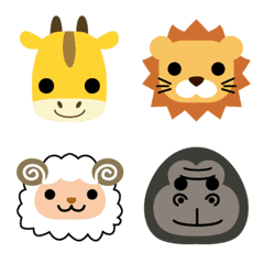 Pretty animal Emoji  – LINE Emoji | LINE STORE