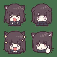 Nanase-kurumi Emoji 4 - Cat...