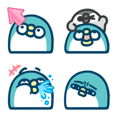 PP mini小小企鵝 表情貼8