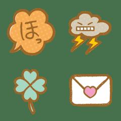 Simple & Cute Pastel Emoji