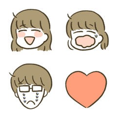 General Emoji with girl and glasses.1