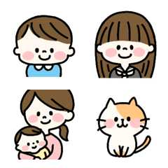 all family emoji