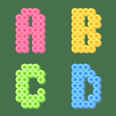 Iron beads decomoji