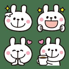 Adult cute rabbits Emoji