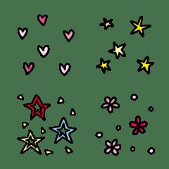 花紋圖案符號分隔線2 DoubleCats MAGGIE