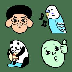 The emoji fifth of healing pleasantly