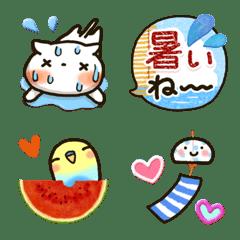 yasasii Emoji [summer]