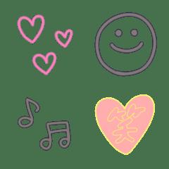 colorful simple emoji*