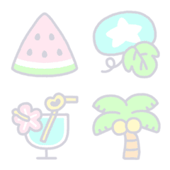 Japanese Summer Emoji