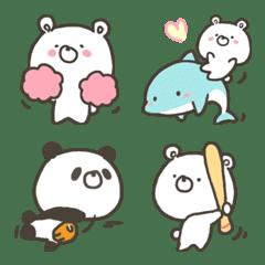 GOOD bear's outdoor & sport emoji