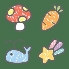 My Crayon Style Emoji
