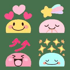 Choko emoji colorful