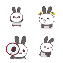 Usapanda (gray) Emoji
