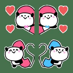 small panda couple Emoji