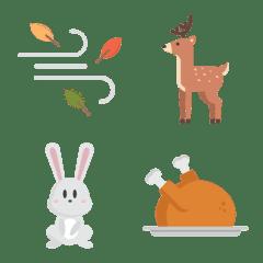 秋季表情符號