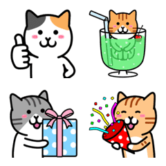 The world of the cat (Emoji) 2