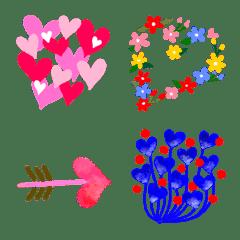 Love Heart only Emoji No2