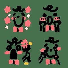 自然捲的顏表情6