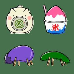 August & September Japanese Emoji