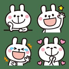 Adult cute rabbits Emoji 3