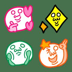 Mr.Spokesman Emoji 3 hand sign